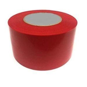 ruban adhésif polyéthylène rouge