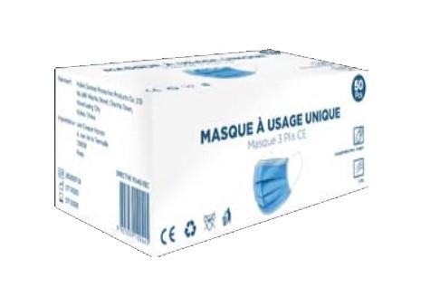 Masque médical Type I covid 19